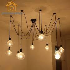 DIY Pendant lights <b>Modern Nordic</b> E27 Retro Hanging Lamps ...