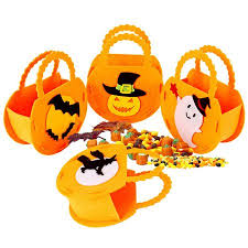 Cheers <b>Portable Halloween Pumpkin Shape</b> Candy Bag Storage ...