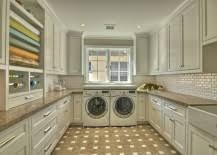 top laundry room storage ideas bright modern laundry room