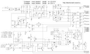 pc switching power supply schematic using tl494 lm339 ic 2003 ka7500 smps schematic using ic2003