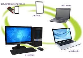 Resultado de imagem para imagem de pessoas com tablet, celular e notebook na mao