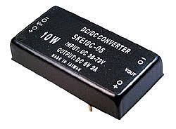 DKE10C-12 - 10W <b>48V Input</b> +<b>12V</b> & -<b>12V</b> Output DC-DC Converter