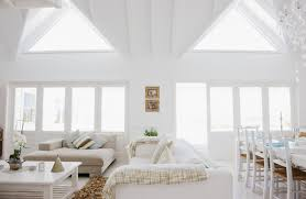 lighting in rooms. two grand skylights stand out in this highceiling living room the all white lighting rooms