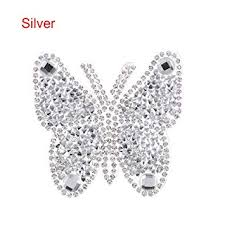 OFCCN <b>Iron</b>-on Garment Decoration Motifs Sticker Hotfix <b>Butterfly</b>