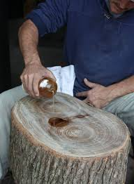 17 apart how to diy stump table i have to do this with the huge tree stump ive been saving is creative inspiration for us get more photo about home awesome tree trunk table 1