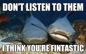 Friendly Shark Is Friendly | Hilarious Memes That Prove Sharks Are ... via Relatably.com