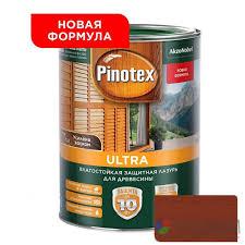 <b>Влагостойкая лазурь для дерева</b> Pinotex Ultra Рябина 1л ...