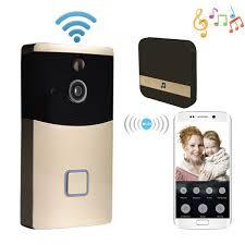 <b>WiFi Wireless Video</b> Doorbell <b>Camera</b>, Smart <b>Doorbell 1080P HD</b> ...