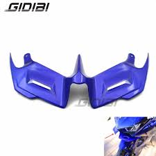 <b>Motorcycle ABS Blue R3</b> R25 Front Fairing Aerodynamic Winglets ...