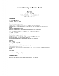 retail job skills on resume cipanewsletter retail hiring resume s retail lewesmr