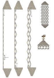 Жемчужно-золотой <b>браслет</b> | Руководства по бисероплетению ...