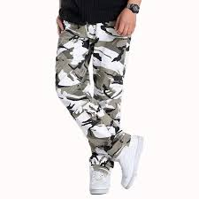 <b>Man</b> Cargo Pant Camouflage Color Trousers Comfort Casual <b>Male</b> ...