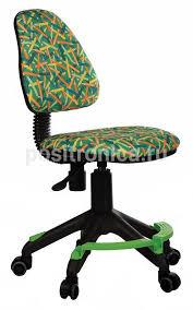 Купить Кресло детское <b>Бюрократ KD</b>-<b>4</b>-<b>F зеленый</b>