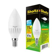 <b>Лампа светодиодная</b> свеча 11Вт E14 2700К 220В