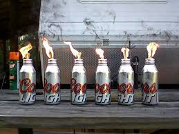 outdoor torch lighting. our homemade tiki torches outdoor torch lighting