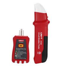 <b>UNI T</b> UT25A <b>Professional Automatic</b> Circuit Breaker Finder Socket ...