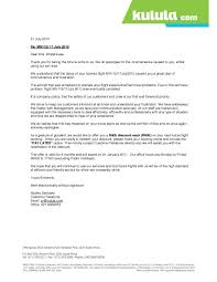airline apology letter apology letter  10