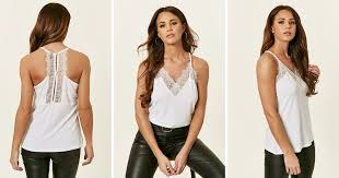 Cami Tops   Silky, <b>Lace</b> and Leopard Print Cami Tops   <b>SilkFred</b>