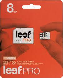 Купить <b>карту памяти</b> Leef PRO microSD <b>8Gb</b> UHS1 + SD адаптер ...