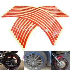 Automotive Parts & Accessories GREEN <b>REFLECTIVE</b> RIM TAPE ...