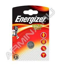 <b>Батарейка Energizer Lithium CR1620</b> (1 шт.) /блок 10 - Батарейки ...