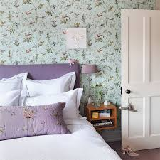 lovely cream lilac bedroom design ideas