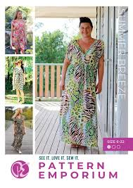 Maxi Dress Sewing <b>Pattern</b> | <b>Summer</b> Dress <b>Pattern</b> Online