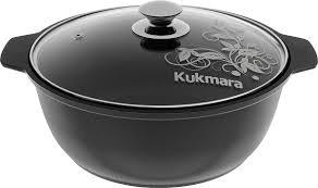 """<b>Кастрюля</b>-<b>жаровня</b> """"Kukmara"""" с антипригарным покрытием, со ..."""