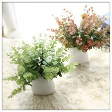 <b>Northyle</b> Real Touch Small Eucalyptus Simulation Flowers Botany ...