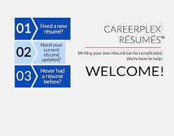 careerplex résumé writing center a new kind of résumé writing for today s job hunt