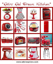 red home decor accessories  kitchen accessories and accents popular home design gallery