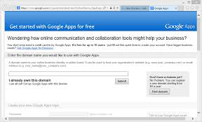 How to Sign-up for Google Apps for Free
