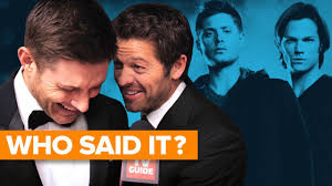 Supernatural Cast Plays WHO SAID IT? - YouTube