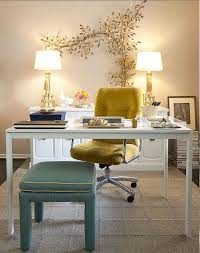 beautiful home office design with feminine touch beautiful home office home
