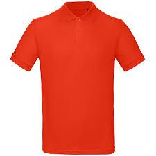 <b>Рубашка поло мужская Inspire</b>, красная | Рекламная группа - Мотор