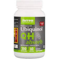 Отзывы Jarrow Formulas, <b>Убихинол QH</b>-<b>Absorb</b>, <b>200 мг</b>, 60 <b>мягких</b> ...