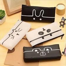 Other School Supplies Home & Garden 1Pc PU Pencil Case <b>Kawaii</b> ...