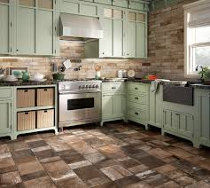 Stone Floor Tiles Kitchen 25 Beautiful Tile Flooring Ideas For Living Room Kitchen And