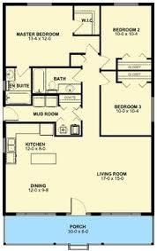 Floor plans  Bedrooms and House on Pinterest sqft floor plan house bedroom bath story  porch  mud