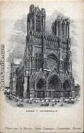 「1575, Cathédrale Notre-Dame de Reims」の画像検索結果