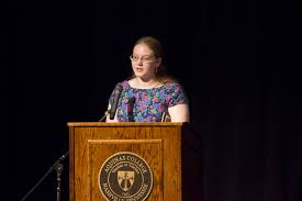rd annual tolkien lewis celebration aquinas college joan johnson winner of the tolkien lewis essay contest reads her paper