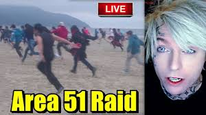 Reacting to Storm Area 51 Live Stream Raid Reaction September 20