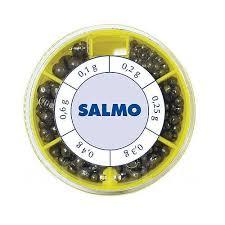 <b>Грузила Salmo Дробинка PL</b> 6 секций стандартные 070г набор ...