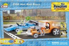 "Пластиковый <b>конструктор COBI</b> ""<b>Zoo</b> Hot Rod Race"" с фигурками ..."