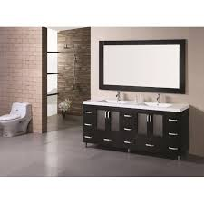 element solid wood bathroom vanity set