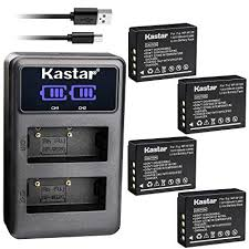 Kastar Kastar Dual <b>LCD USB</b> Charger and 4 Pack Battery: Amazon ...