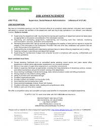 dental office manager resume objective sample job and resume 1275 x 1650