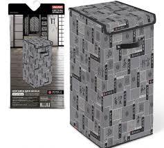 <b>Корзина для белья</b> с крышкой <b>Valiant</b> Japanese Black JB-BOX-LXL