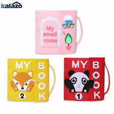 <b>1pc</b> cute <b>cartoon</b> animal pattern Handmade <b>Felt</b> Quiet Books Baby ...