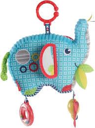 Фишер прайс — Мягкая <b>игрушка</b> подвеска <b>Слоненок</b>, <b>Fisher Price</b> ...